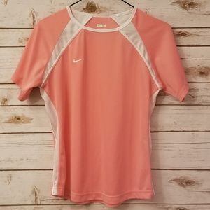 ⬇️⬇️$20 Nike Pink White Tee Girls XL 16 NEW